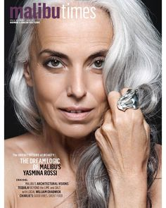 I want to have long silver hair like Yasmina Rossi when I'm older.