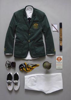 Australian London Olympic 2012 uniform