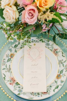 Modern Romantic Wedding Inspo Dressed in Sweet Blues Wedding Place Settings, Wedding Menu Cards, Wedding Themes, Wedding Table, Wedding Colors, Wedding Photos, Wedding Ideas, Wedding Reception, Romantic Weddings