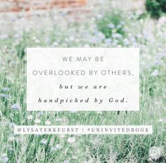 Loved & handpicked by God