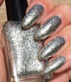 Silver Surfer  misc release by ShleeePolish on Etsy