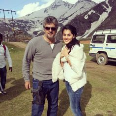 Ajith 53 Shooting Spot Images
