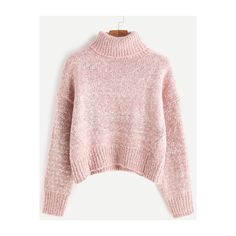 Ines Turtle Neck Sweater ($24) ❤ liked on Polyvore featuring tops ...