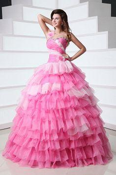 Sweet 16 Dresses, Cheap Prom Dresses, Cheap Wedding Dress, Princess Wedding Dresses, Wedding Gowns, Buy Dress, Pink Dress, Robes Quinceanera, Elegant Ball Gowns