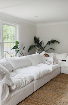 Get official news, music, video and tour updates from Lennon Stella Home Living Room, Living Room Decor, Bedroom Decor, White Couch Living Room, Bedroom Ideas, Living Room Inspiration, Home Decor Inspiration, Decor Ideas, Interior Design Living Room