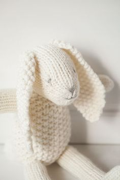 Snowy Bunny - Knitting Patterns and Crochet Patterns from KnitPicks.com by Edited by Knit Picks Staff