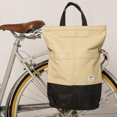 Linus Sac bike Pannier Beige & Black