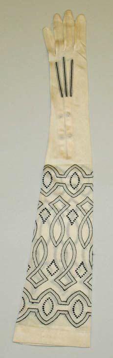 Silk gloves - 1920's - Kayser-Roth Glove Co., Inc - The Metropolitan Museum of Art - Style: Art Deco