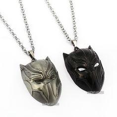 Black Panther Superhero Pendant Necklace   FREE Shipping Worldwide    Https://www.
