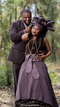Awesome Collection of Traditional Shweshwe Attire For You - Reny styles African Print Wedding Dress, African Print Dresses, African Print Fashion, Africa Fashion, African Fashion Dresses, African Dress, African Wear, African Clothes, Fashion Outfits