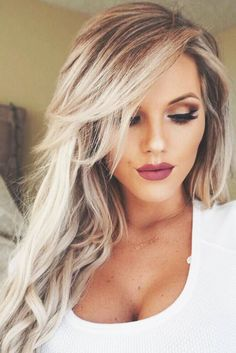 33 Long Layered Hair Style With Bangs Long hair, layers, bangs. long layered hair style with bangs Long Face Haircuts, Long Hairstyles With Layers, Layered Haircuts, Hairstyles With Side Bangs, Haircut For Long Face, Side Bang Haircuts, Short Haircut, Hair Pictures, Pretty Hairstyles