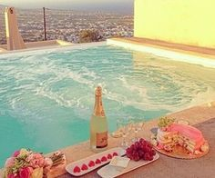 Romantic date in an exotic place.