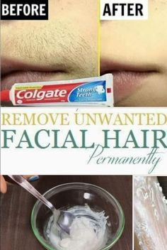 How To Remove Unwanted Facial Hair Permanently. Remove facial hair permanently at home quick and easily, with this simple DIY homemade facial hair recipe.