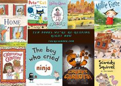 Ten Picture Books We're Re-reading Right Now: November 2012 Edition via theresabook.com
