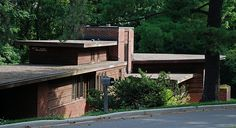 Charles and Dorothy Manson House by Frank Lloyd Wright (1941)