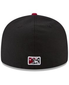 9280ef467f1b0 New Era Albuquerque Isotopes MiLB x Mlb 59FIFTY Fitted Cap - Black Red 7.  Albuquerque Isotopes