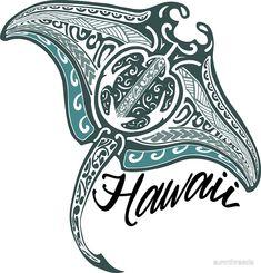 'Vintage Hawaiian Manta Ray' Sticker by sunnthreads Manta Ray Tattoos, Shark Tattoos, Polynesian Art, Polynesian Tattoo Designs, Hawaiian Tribal Tattoos, Tribal Sleeve Tattoos, Turtle Tattoo Designs, Tribal Tattoo Designs, Hawaiianisches Tattoo