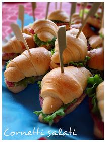 These croissants never fail in my party buffets, birthdays, baptisms … – Toptrendpin Pizza E Pasta, Pizza Pizza, Kitchen Recipes, Cooking Recipes, I Love Pizza, Party Buffet, Toast, Menu, Antipasto
