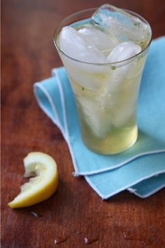buying some Domaine de Canton ginger liqueur and making this ginger julep tonight!
