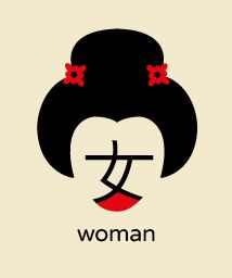 Chineasy - gorgeous graphics/typography system for learning Chinese symbols. Genius!