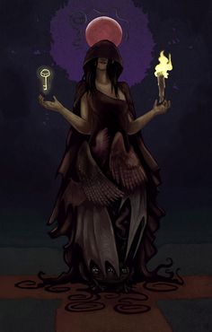 This is an e-shrine dedicated to Hekate, the Greek goddess of witchcraft and the Underworld. Learn About Hekate Here / Informative. Wiccan, Magick, Hecate Goddess, Goddess Art, Thor, Loki, Celtic Mythology, Greek Mythology, Symbole Viking