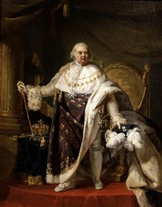 Gods and Foolish Grandeur: Three brothers, three kings - portraits of Louis XVI, Louis XVIII, and Charles X Luis Ix, Bourbon, Local Painters, French Royalty, Basic Painting, French History, Portrait Sketches, Historical Art, Louis Xvi