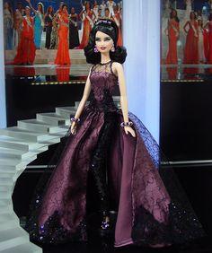 Miss El Salvador 2012  - Vestido inspirado en el diseñador Georges Chakra – Fall Winter 2013 / 2014 Collection