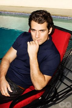 Henry Cavill AKA Clark Kent/Superman from Man of Steel. I think he would have made a good choice for Christian Gray...