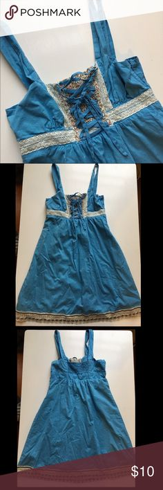 👗 Light Blue Summer Dress 👗 🎀 Blue Summer Dress🎀 Charlotte Russe🎀 Size Small 🎀 Charlotte Russe Dresses