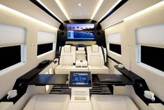 We brought to you the one-of-a-kind luxury-packed Mercedes Benz Sprinter JetVan by Becker Automotive Design a short while ago. The van, built to satisfy just about every known human creature comfort, has grabbed the limelight yet again, showing up at the 2012 New York International Auto Show in Manh...