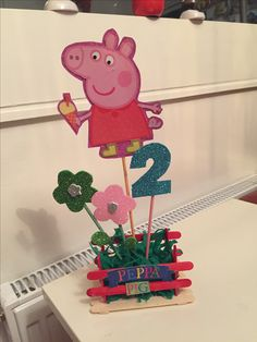 Ready ! Made with too much love for my daughter Nichollie. Peppa Pig