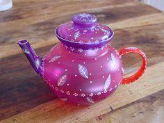 Tea pot by Nini Violette, via Flickr