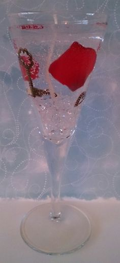 Handmade stunning gel candle in a glass by Prettycards4you on Etsy
