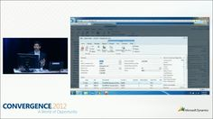 Daniel Brown using the NAV 2013 web client on a server instance running in Azure cloud #CONV12
