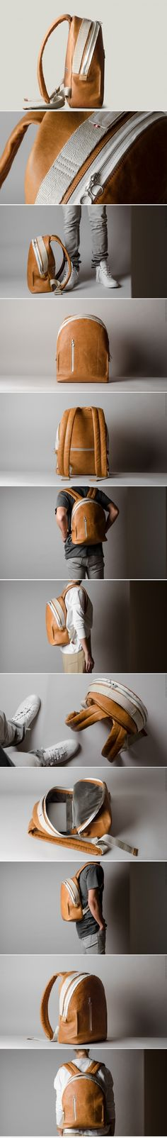 A BACKPACK - any backpack, for style more than function :)