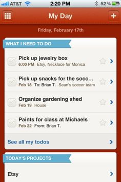 Weave - Nice app for those of you that are the list keeping types... Clean interface.