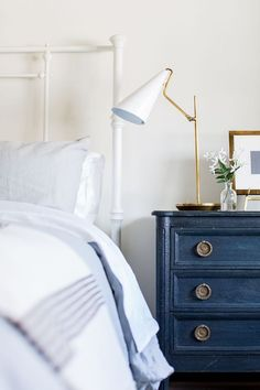 BECKI OWENS- Heber House Project Bedrooms- modern minimalism with rustic warmth
