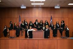 'Black girl magic': 19 black women ran for judge in Texas county – and all 19 won . The 19 successful women in Harris county. Erica Hughes, who was elected to a criminal court position, wrote: 'We want to turn Harris county upside down. Harris County Texas, 17 Black, We Are The World, Successful Women, African American Women, American History, African Americans, Beautiful Black Women, Beautiful Gowns