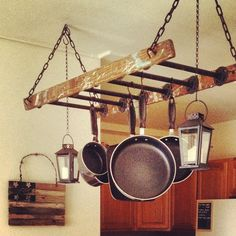 This is it! This is what I want to make for the laundry room. Love the combination of pipe and wood.