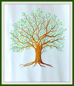 Árbol de recuerdos o firmas Tableware, Crafts, Diy, Memory Tree, Hearts, Patterns, Manualidades, Dinnerware, Bricolage