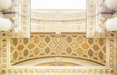 The Light Painters Loft | Golden Ceiling