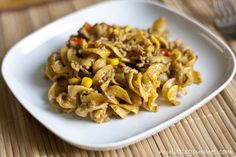 Taco Stroganoff - My Little Gourmet Pasta Recipes, Beef Recipes, Good Food Image, Beef Stroganoff, Meals, Dinners, Main Dishes, Tacos, Yummy Food