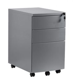 Kontener biurowy RPH-01B Unique to trzyszufladowy mebel z możliwością zamknięcia szuflad i zabezpieczenia ważnych dokumentów. Korpus kontenera wykonany jest z metalu malowanego lakierem proszkowym na jeden z trzech dostępnych kolorów: biały, czarny oraz srebrny. https://mirat.eu/kontenerki,c241.html