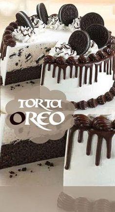 Chocolate and hazelnut cake - HQ Recipes Torta Oreo, Oreo Cake, Oreos, Cheescake Oreo, Sweet Recipes, Cake Recipes, Pear Cake, Hazelnut Cake, Drip Cakes