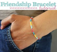 Round Friendship Bracelet Tutorial
