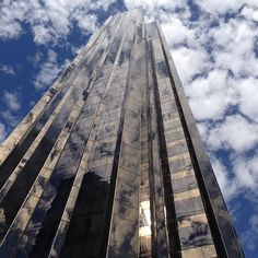 Looking up at Trump New York - Central Park. Taken by guest Nikki.