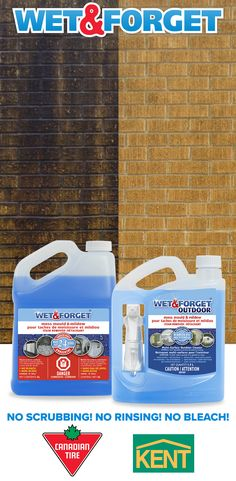 Wet And Forget Easy Outdoor Cleaning Cleaning Solutions, Cleaning Hacks, Vase Decorations, Brick Roof, Living Room Hardwood Floors, Types Of Siding, Scott Moir, Camper Awnings, Ranch Decor