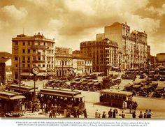 Praça da Sé -c. 1930 - São Paulo, SP - Brasil -  by Meu Bairro Meu País, via Flickr