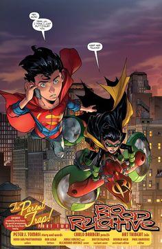 Dc Comics Heroes, Dc Comics Art, Batman Comics, Cosmic Comics, Best Superhero, Superhero Design, Damian Wayne, Read Comics, Funny Comics