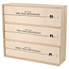 Newlyweds Wine Box - awesome gift idea!
